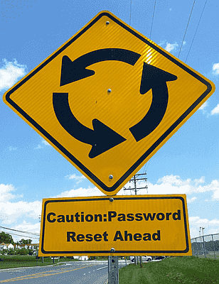 Password reset ahead!